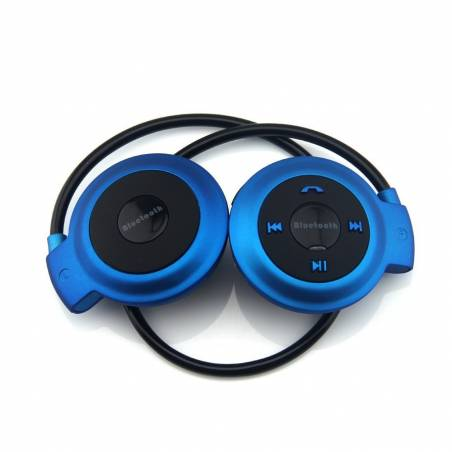 Universal Sports Wireless Mini 503 Bluetooth Stereo Headphone- Supports Wireless Music Streaming and Hands-Free Calling (Black)