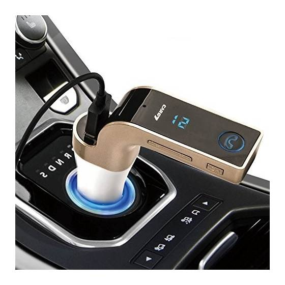 CAR Bluetooth FM Transmitter With USB Flash Drives /TF Music Player Bluetooth Car kit USB Car Charger