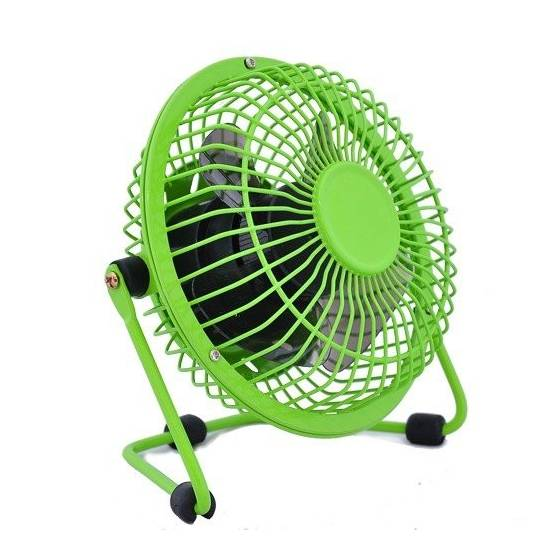 Metal Series Mini USB Fan, 360 Degree Rotate