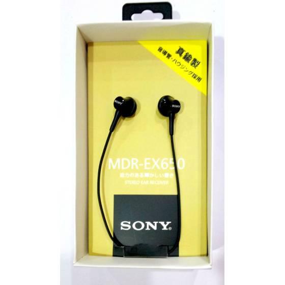 SONY MDR-EX650 Premium Stereo Earphone