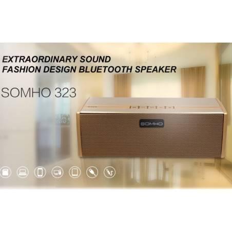SOMHO Super Bass S323 Wireless Portable Bluetooth Mini  Speaker