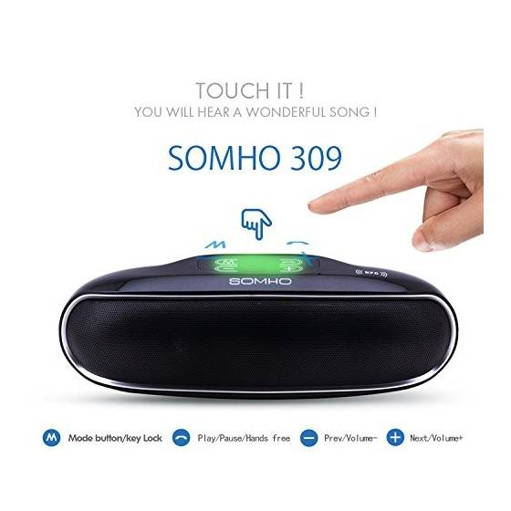 SOMHO S309  Wireless Mini Bluetooth Speaker