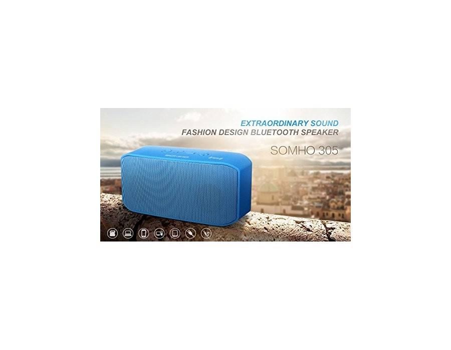 SOMHO S305 Dual Speakers Super Bass Bluetooth Wireless Mini Speakers