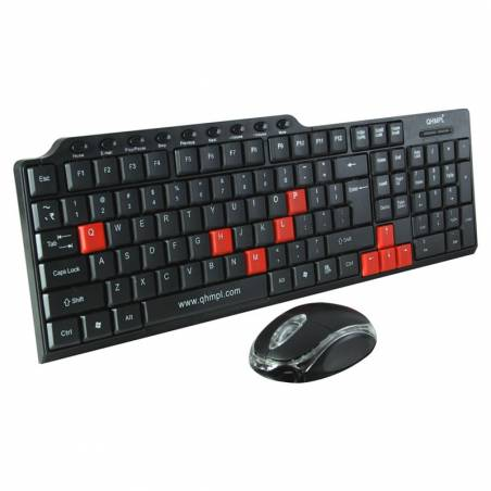 Quantum QHM8810 Multimedia COMBO USB Keyboard and Mouse