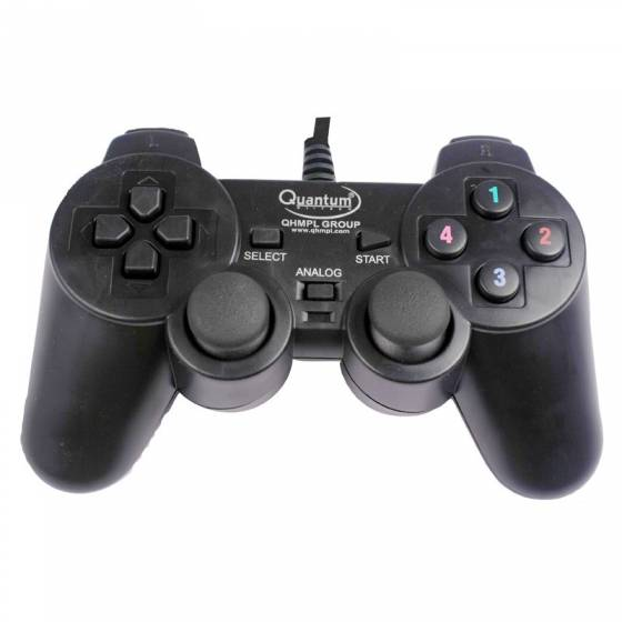 Quantum QHMPL QHM7468 USB Vibration Game Pad Remote Joystick