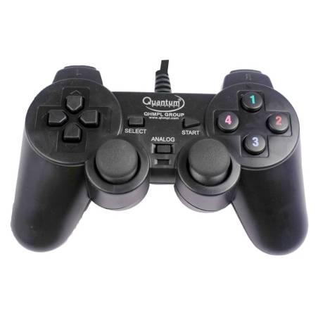 Quantum QHMPL QHM7468 USB Vibration Game Pad Remote Joystick