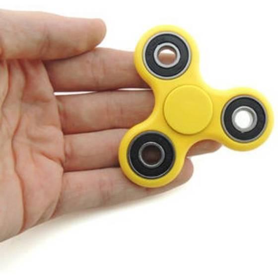 Awstro Blazon Turboroocer Fidget Spinner with Hybrid Ceramic Bearing - (yellow)
