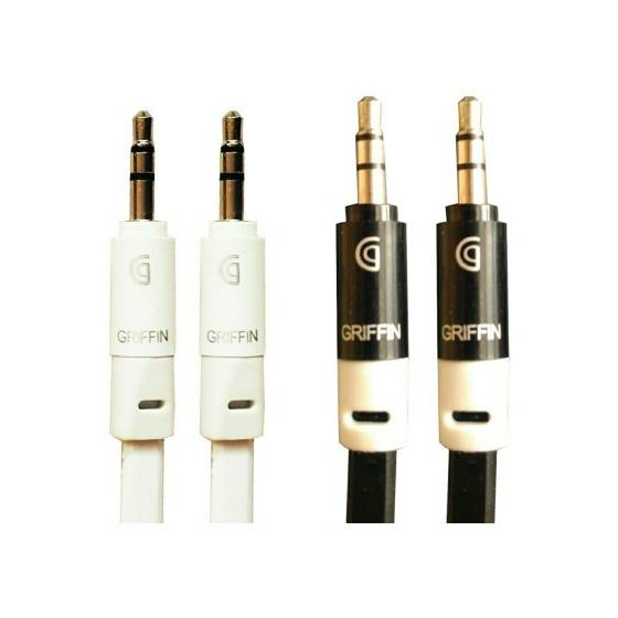 Griffin Black and White Set of 3 AUX Cable