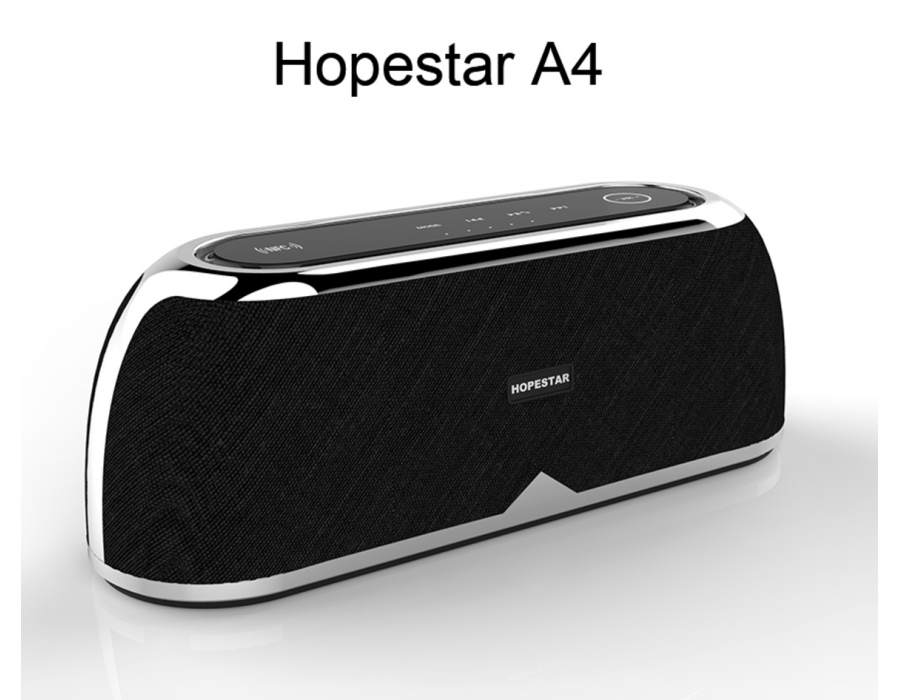 Hopestar A4 Bluetooth Speaker Support NFC Touchpad With Heavy Bass Support  Handsfree and TF CARD U-DISK MIC