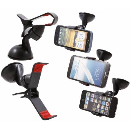 Car Mobile Holder Mount Bracket Holder Stand 360 Degree Rotating