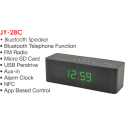 Aodasen JY28C Bluetooth Speaker With Digital Clock