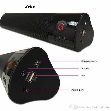 Awstro Ultra High Bass WM-1300C Bluetooth Wireless Mobile/Tablet/TV/Laptop Speaker