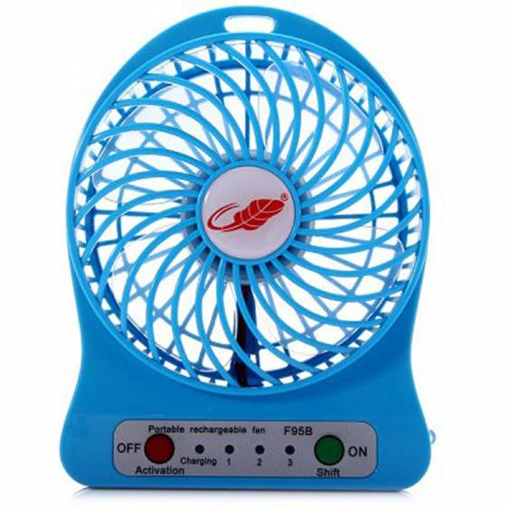 Awstro 4 Inch Rechargeable Battery USB Mini Fan