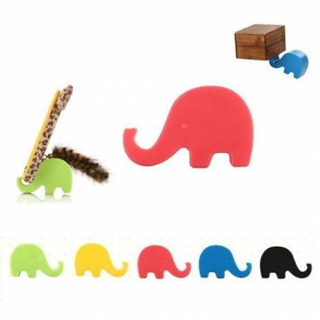 Super Cute Mini Elephant Mobile Holder Stand