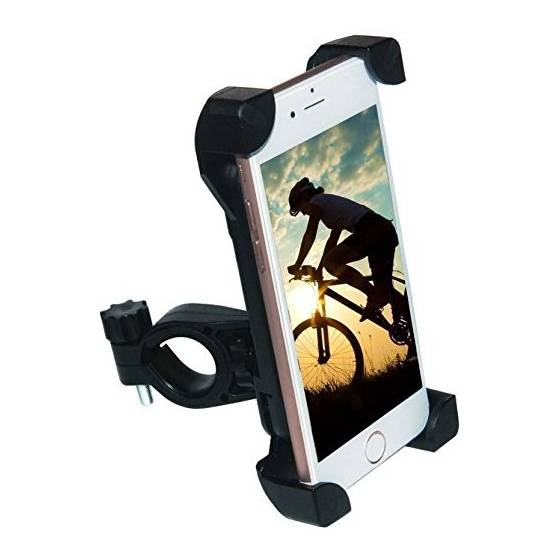 Bike Mobile Phone Stand & Holder Flexible 360 Rotation
