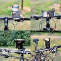 Bike Mobile Phone Stand & Holder Flexible 360 Rotation