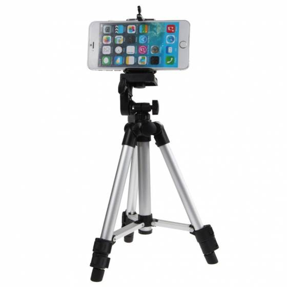 Professional ET-3110 Tripod For Mobile & DSLR Cameras With Carry Bag - Fully Flexible Mount Cum Tripod Stand