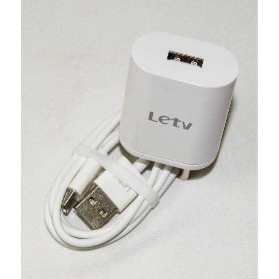 Letv Mobile Charger Adapter & Data Cable