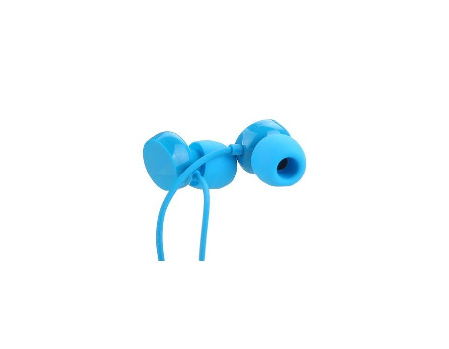 Nokia WH-208 In-the-ear Headset (Blue with Extra Earbuds) Canal Earphone