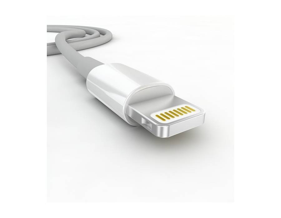 Apple MD818ZM/A Lightning Connector to USB Cable (1 Meter) (White)