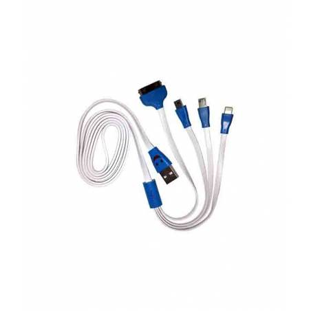 Link+ 4 In 1 Smiley Data Cable