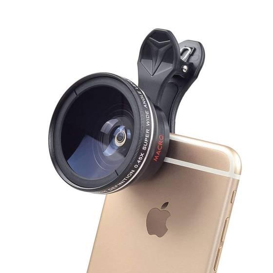 0.45X Phone Lens Wide Angle...