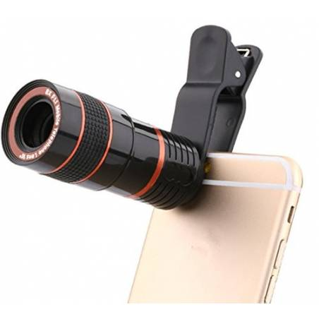 Universal Mobile 8X Telescope Camera Lens With Universal Holder