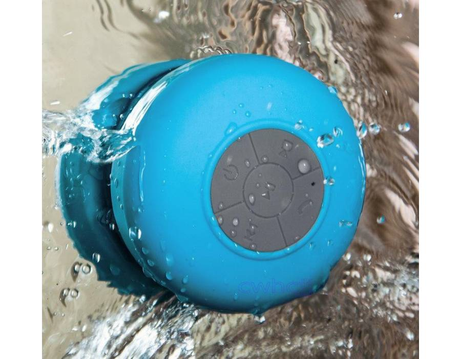 Portable Shower Bluetooth Speaker - Certified Waterproof. Compatible With All Devices Mobile/Tablet Speaker