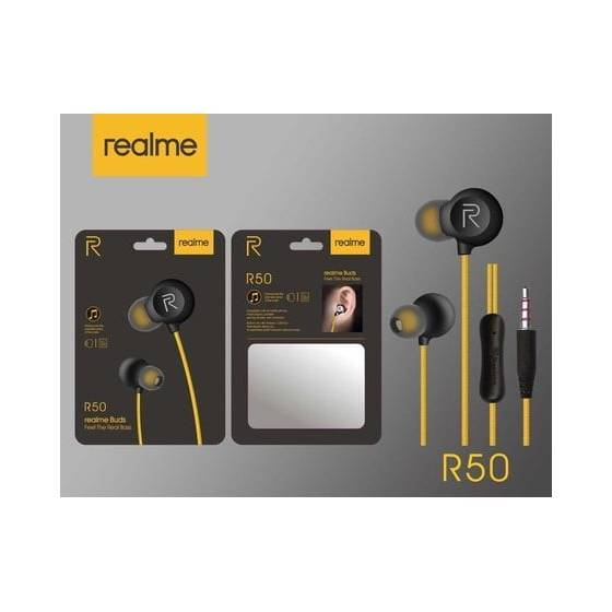 Realme R50 Earphones Wired...