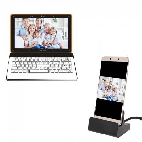 USB Type C Docking Cradle For Sync & Charging For All Type C Devices
