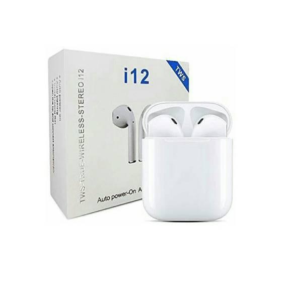 i12 TWS Bluetooth Earbuds