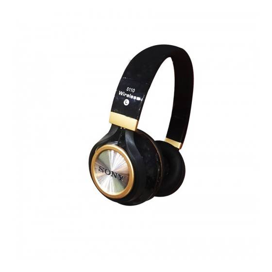 More about Sony S110 Bluetooth Wireless Headphone with High Bass and inbuilt FM (Black)