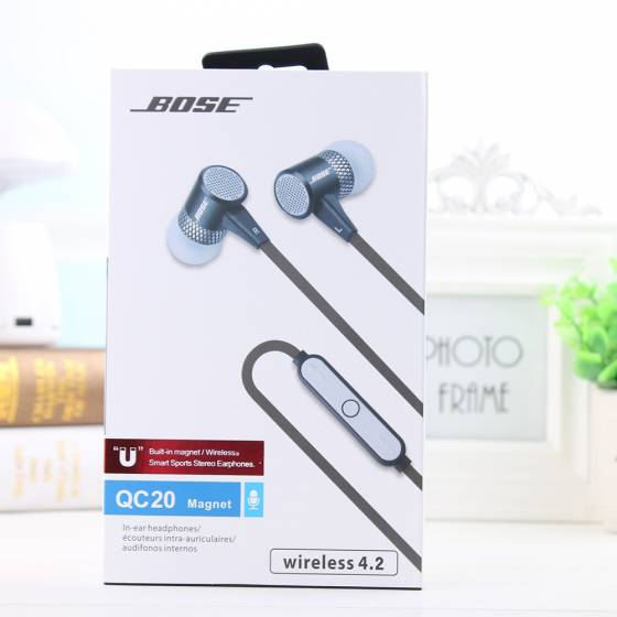 More about BOSE QC 20 Wireless Bluetooth Sports stereo Earphones oem