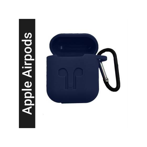 AirPods Case Cover Silicone Protective Case Skin for Apple Airpods - Front LED Visible