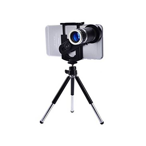 More about Zoomer 8X Optical Zoom Telescope Mobile Camera Lens Kit with Tripod and Adjustable Holder