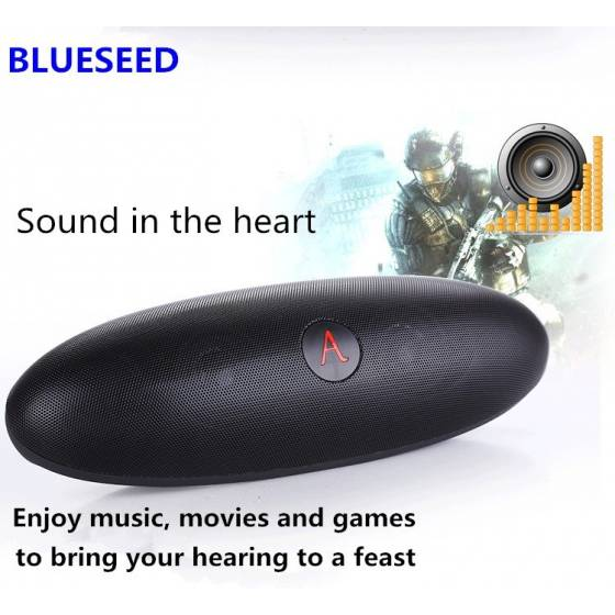 Music Apollo S6 Wireless Bluetooth Speaker Big Box Pill Speaker With Dude Doll Holder Speaker NFC