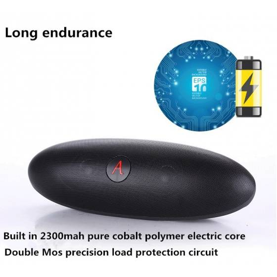 Music Apollo S6 Wireless Bluetooth Speaker Big Box Pill Speaker With Dude Doll Holder Speaker NFC