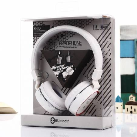 Wireless SH10 Bluetooth Headphone With FM and Calling