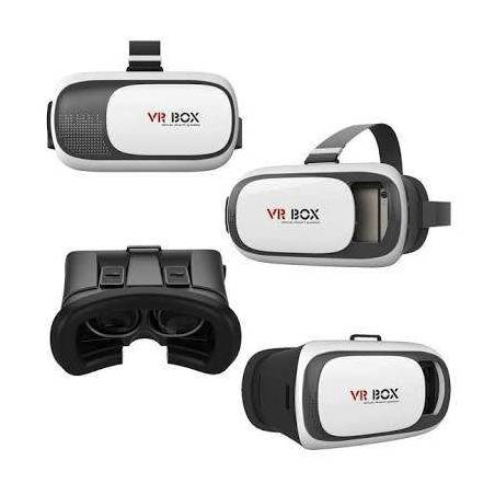 3D VR Box, With Bluetooth Controller, Virtual Reality Headset Version 2.0 3D Glasses Adjust Cardboard VR BOX