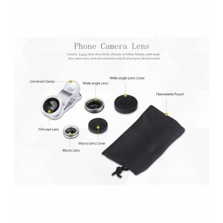 Universal Camera Lens (For All SmartPhones ,Tablet , iPhones , iPad , Laptop) Lens