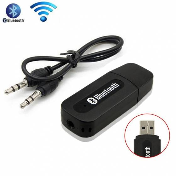 Audio Receiver 3.5Mm Music Wireless Hifi Dongle Transmitter Usb Mp3 Speaker Car