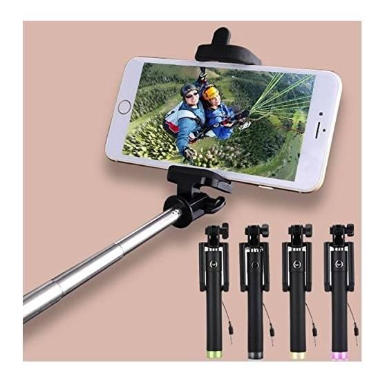 Locust Aux Cable Monopod Premium Series Selfie Stick