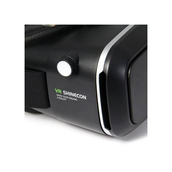 VR Shinecon G-01 3D Virtual Reality Headset For VR Video Gaming, Movies, Pictures - Compatible With All Android Phones, iPhones