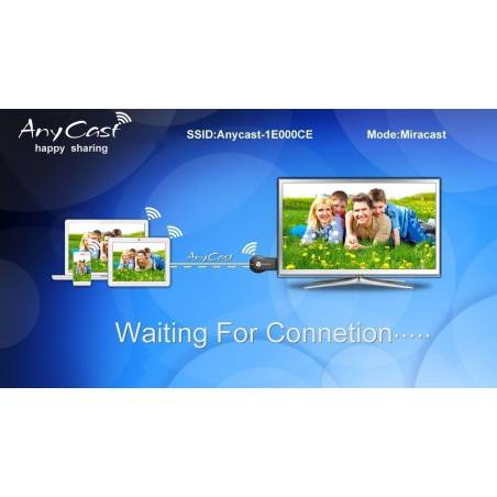 Google Anycast M2 Plus Miracast Airplay Dlna Hdmi Wifi Display Dongle(Apk-Free Anycast M2 Plus)