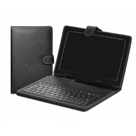 Awstro  Universal Leather Case Cover Stand USB Keyboard for All 7-inch Tablets