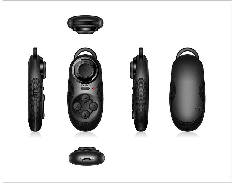 VR BOX Remote Controller Wireless Bluetooth Gamepad Selfie Camera Shutter Wireless Mouse Music Player