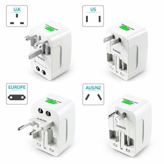 Universal World Wide Travel Charger Adapter