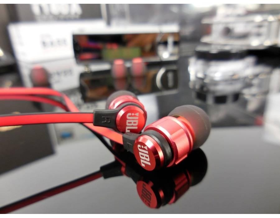 JBL 180A In-Ear Headphones with Mic (Black)