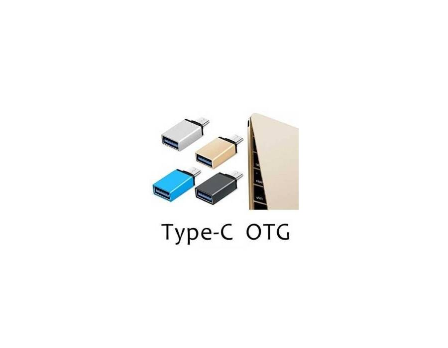 Type C To USB Otg Adapter