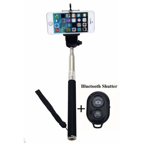 More about Selfie Monopod Stick with Bluetooth Remote